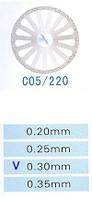 Диск алмазный двухсторонний C05/220/0.30 Kangda Gold Eagle