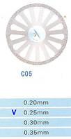 Диск алмазный двухсторонний C05/300/0.25 Kangda Gold Eagle