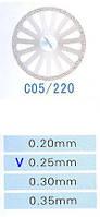 Диск алмазный двухсторонний C05/220/0.25 Kangda Gold Eagle