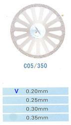 Диск алмазный двухсторонний C05/350/0.20 Kangda Gold Eagle