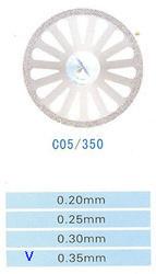 Диск алмазный двухсторонний C05/350/0.35 Kangda Gold Eagle