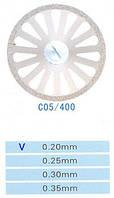 Диск алмазный двухсторонний C05/400/0.20 Kangda Gold Eagle