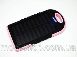 Повер банк Power Bank 20000 mAh на солнечных батареях