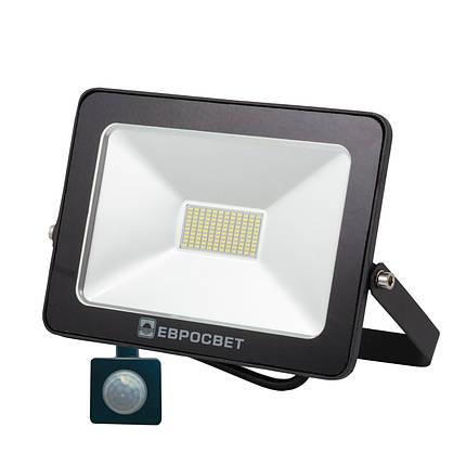 Светодиодный прожектор с датчиком движения Евросвет, фото 2