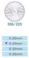 Диск алмазный двухсторонний C06/220/0.25 Kangda Gold Eagle