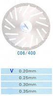 Диск алмазный двухсторонний C06/400/0.20 Kangda Gold Eagle