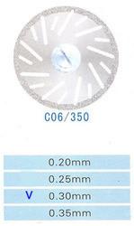 Диск алмазный двухсторонний C06/350/0.30 Kangda Gold Eagle