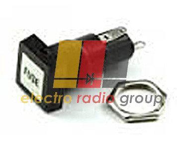 Держатель предохранителя приборный F504(аналог ДВП4-2) - Электро Радио Груп - 1-й магазин электрики и радиоэлектроники в Кривом Роге