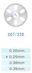 Диск алмазный двухсторонний C07/220/0.25 Kangda Gold Eagle