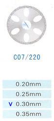 Диск алмазный двухсторонний C07/220/0.30 Kangda Gold Eagle