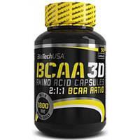 Аминокислоты ВСАА (бца) BCAA 3D 90 капсул BiotechUSA