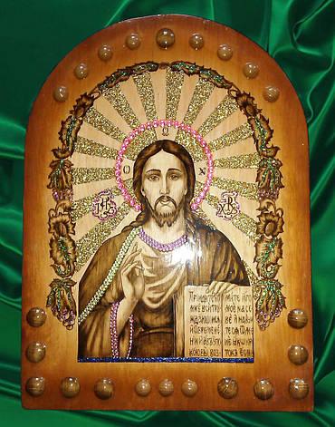 """Икона ручной работы """" Иисуса Христа """", фото 2"""