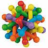 Мяч Karlie-Flamingo Atom Colored для собак резина, 10 см