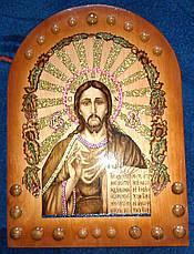 """Икона ручной работы """" Иисуса Христа """", фото 3"""