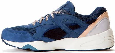 Мужские кроссовки BWGH x Puma R698 Dark Denim Blue 357769-01, Пума Р698, фото 2