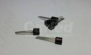 КТ203АМ транзистор PNP (50мА 60В) 0,15W (ТО92)