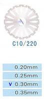Диск алмазный двухсторонний C10/220/0.30 Kangda Gold Eagle