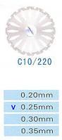 Диск алмазный двухсторонний C10/220/0.25 Kangda Gold Eagle