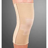 Бандаж эластичный на коленный сустав со спиральными ребрами Ortop