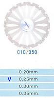 Диск алмазный двухсторонний C10/350/0.25 Kangda Gold Eagle
