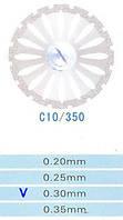 Диск алмазный двухсторонний C10/350/0.30 Kangda Gold Eagle