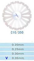 Диск алмазний двосторонній C10/350/0.35 Kangda Gold Eagle