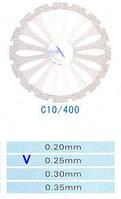 Диск алмазный двухсторонний C10/400/0.25 Kangda Gold Eagle