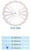 Диск алмазний двосторонній C10/400/0.35 Kangda Gold Eagle