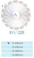 Диск алмазный двухсторонний C11/220/0.20 Kangda Gold Eagle