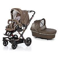 Детская прогулочная коляска Topline S New Hartan коричневый в клетку (221515207)