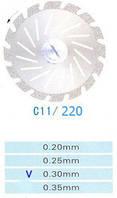 Диск алмазный двухсторонний C11/220/0.30 Kangda Gold Eagle
