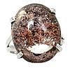"""Серебряное кольцо с лодолитом """"Сизый мох"""" , размер 18.5  от студии LadyStyle.Biz"""