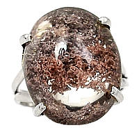 """Серебряное кольцо с лодолитом """"Сизый мох"""" , размер 18.5  от студии LadyStyle.Biz, фото 1"""