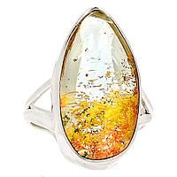 """Серебряное кольцо с лодолитом """"Капельное"""" , размер 17.8  от студии LadyStyle.Biz, фото 1"""