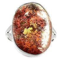 """Серебряное кольцо с лодолитом """"Аквариум"""" , размер 19  от студии LadyStyle.Biz, фото 1"""
