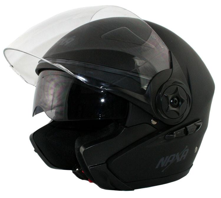 Мотоциклетный шлем NAXA S13/b MAT r.S + BLENDA