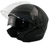 Мотоциклетный шлем NAXA S13/b MAT r.S + BLENDA, фото 1