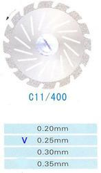 Диск алмазный двухсторонний C11/400/0.25 Kangda Gold Eagle