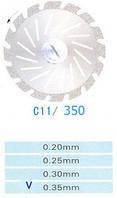 Диск алмазный двухсторонний C11/350/0.35 Kangda Gold Eagle