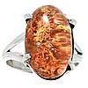 """Серебряное кольцо с лодолитом """"Коралловый риф"""" , размер 17.7  от студии LadyStyle.Biz"""