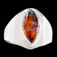 """Серебряное кольцо с какоксенитом """"Маркиза Ангелов"""", размер 18,8 от Студии  www.LadyStyle.Biz, фото 1"""