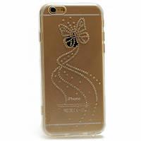 Чехол накладка силиконовый Younicou Diamond для iPhone 5 5S SE Butterfly
