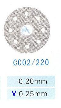 Диск алмазный односторонний CC02/220/0.25 Kangda Gold Eagle