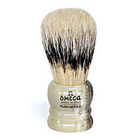 Omega 11047 Banded Boar Shaving Brush Кисточка для бритья