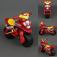 Детский мотоцикл, толокар Байк Полиция музыкальный Doloni  0139/56