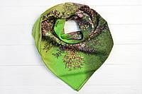 Платок Джей букет зеленый