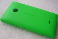Крышка аккумулятора Microsoft Lumia 435 (зеленая), 02508T8 оригинал