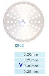 Диск алмазный двухсторонний CM02/220/0.30 Kangda Gold Eagle