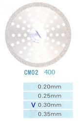 Диск алмазный двухсторонний CM02/400/0.30 Kangda Gold Eagle