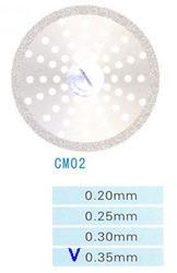 Диск алмазный двухсторонний CM02/220/0.35 Kangda Gold Eagle